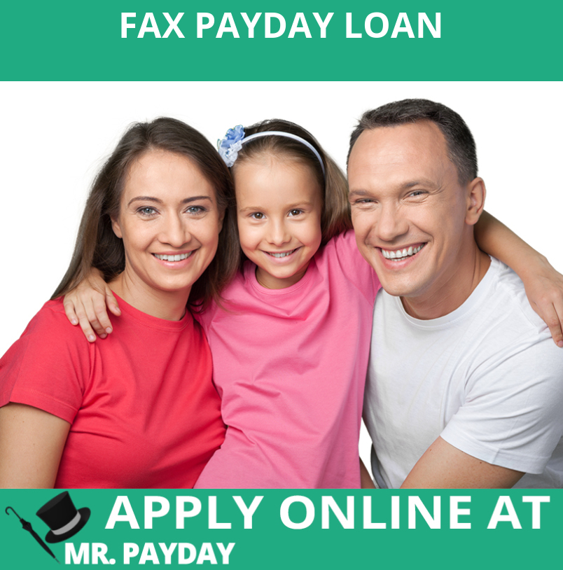 Picture of Fax Payday Loan in Article