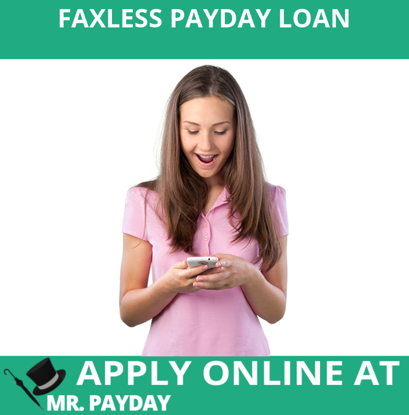 Picture of Faxless Payday Loan in Article