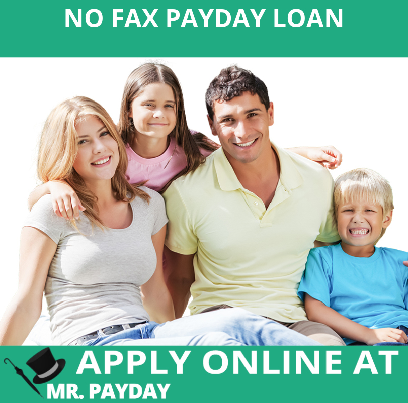 Picture of No Fax Payday Loan