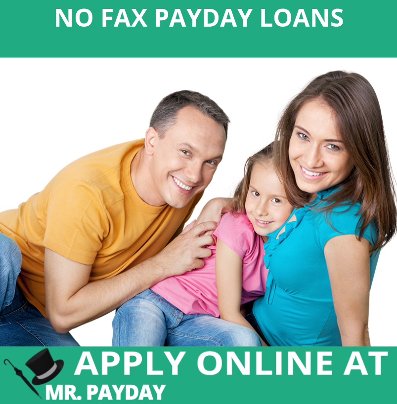 Picture of No Fax Payday Loans in Article