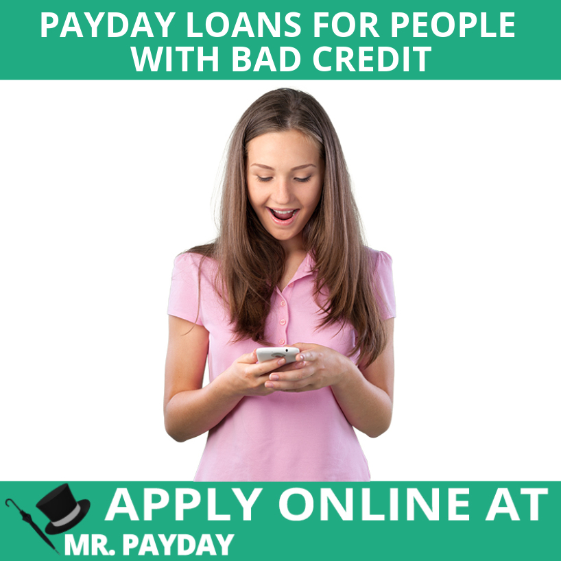 Picture of Payday Loans for People with Bad Credit in Article