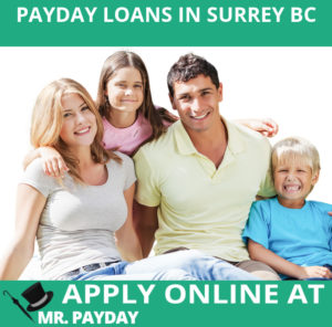 Picture of Payday Loans in Surrey BC in Article.