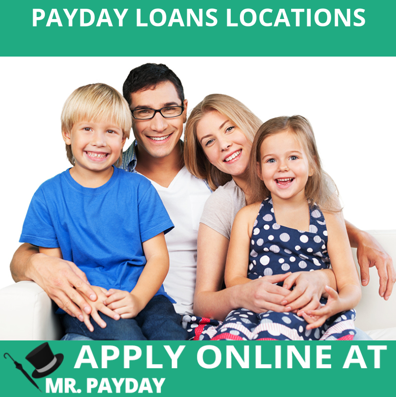 Picture of Payday Loans Locations in Article.