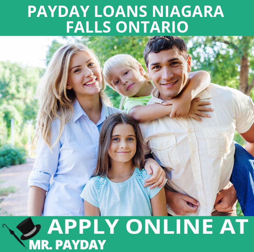 Picture of payday loans Niagara Falls Ontario in Article.
